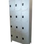 Locker Metálico de 12 compartimentos Cod. 170312
