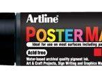 Marcador para Posters Punta 30mm Artline Negro