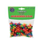 BARRILITO CUENTAS DE COLORES PK 300 UNIDADES CC300