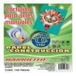 BARRILITO PAPEL DE CONSTRUCCION 100 HOJAS 21.5 X 27.9 7793PCT