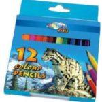 Lapices De Color Cortos 12 Col. Zoo Centrum