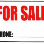 Rótulo – For Sale
