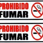 Rótulo – Prohibido Fumar