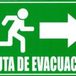 Ruta de Evacuacion