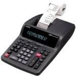 Calculadora con Impresora Casio DR120TM-BK