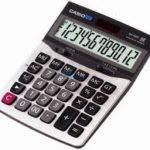 Calculadora de Mesa Casio DX120S