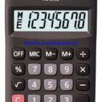 Calculadora de Bolsillo Casio HL815L-BK