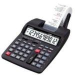 Calculadora con Impresora Casio HR100TM-BK