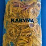Ligas 100% Caucho Natural No.32 (Bolsa 450 Gr.) Karyma