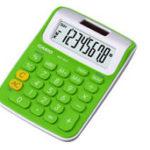 Calculadora de Mesa Casio MS6VC-GN