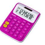 Calculadora de Mesa Casio MS6VC-RD