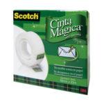 3M CINTA MAGICA 1833CMC 18 mm x 33 mts (caja) BA-5000-0028-2
