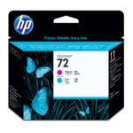 HP CABEZAL MAGENTA – CYAN C9383A #72 PLOTTER T790-T1300-T2300