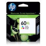HP CARTUCHO COLOR CC644WL 440PGS #60XL