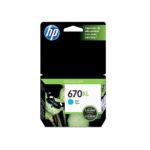 HP CARTUCHO CYAN CZ118AL 750 PGS #670XL