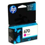 HP CARTUCHO MAGENTA #670 CZ115AL 300PGS