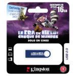 KINGSTON MEMORIA DATA TRAVEL AZUL ERA DE HIELO 16GB KC-U4616-3GB