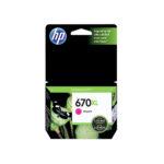 HP CARTUCHO MAGENTA CZ119AL 750 PGS #670XL