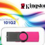 KINGSTON MEMORIA FLASH USB 2.0 16GB KC-U3016-2X3N
