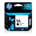 HP CARTUCHO NEGRO C6656AL 450PGS #56