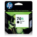 HP CARTUCHO NEGRO CB336WL 750PGS #74XL