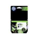 HP CARTUCHO NEGRO CZ117AL 550 PGS 670XL