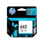 HP CARTUCHO TRICOLOR CZ104AL 100PGS PARA 2515-2516-3515-3516 #662