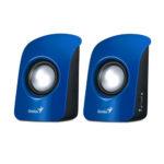 GENIUS PARLANTES 2.0 SP-U115, BLUE, USB POWER 31731006102