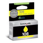 LEXMARK CARTUCHO AMARILLO #108/14N0342 200 PAGINAS