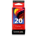 LEXMARK CARTUCHO DE TINTA COLOR 15M0120 450PGS #20