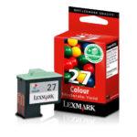 LEXMARK CARTUCHO DE TINTA COLOR MODERADO 10N1127 140 PGS #27