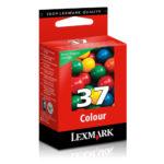 LEXMARK CARTUCHO DE TINTA COLOR MODERADO 150 PGS 18C2140 #37