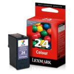 LEXMARK CARTUCHO DE TINTA COLOR MODERADO 185 PGS 18C1524 #24