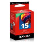 LEXMARK CARTUCHO DE TINTA COLOR MODERADO 215 PGS 18C2110 #15