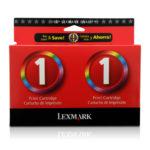 LEXMARK CARTUCHO DE TINTA TWIN PACK 2 UNID #1 PRECIO ESPECIAL