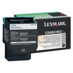 LEXMARK TONER NEGRO C540A1KG 1,000 PGS