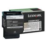 LEXMARK TONER NEGRO C540H1KG 2,500 PGS