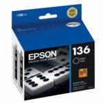 EPSON CARTUCHO NEGRO K101/K301 T136126-AL