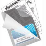 Funda Doble Transparente CARTA Studmark ST-LF-001