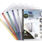 Cubierta de Reporte CARTA con etiqueta adhesiva Studmark ST-RC-001