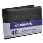 Portatarjetas de Presentación 40 Tarjetas Studmark ST-NCH-40A