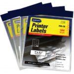 Etiquetas para impresoras 1″ x 2 3/4″ Studmark ST-PRS-30