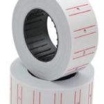 Etiquetas para precios con dos líneas rojas Studmark ST-PRS-05