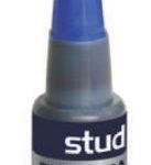 Tinta para Almohadillas color Azul Studmark ST-06331