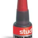 Tinta para Almohadillas color Rojo Studmark ST-06332