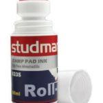Tinta para Almohadillas Roll-On color Rojo Studmark ST-06335
