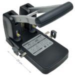Perforadora de 2 huecos 8cm / USO PESADO / Studmark ST-HDP-100