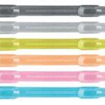 Ganchos Plásticos Ajustables para Folders 80mm 40 unds. – Studmark ST-02103-40