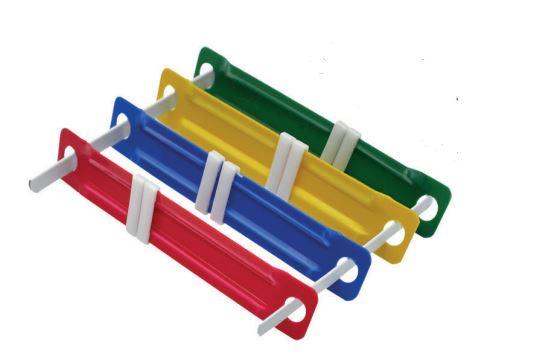 Ganchos pl sticos para folders 70mm x 2 studmark st 02104 for Ganchos de plastico
