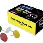 Chinchetas de Colores 50 unidades  Studmark ST-04057